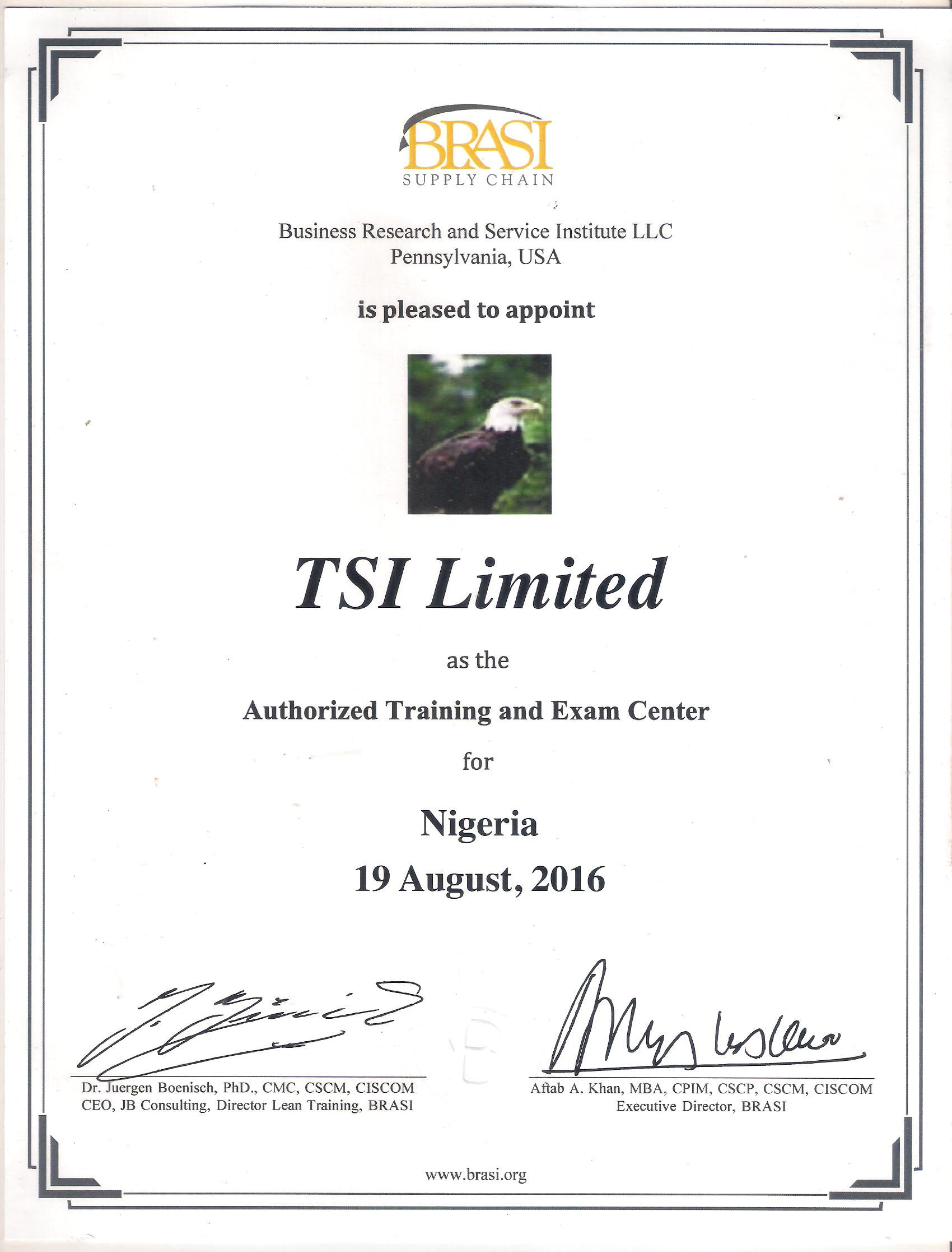 Our partners and useful websites tsi limited certification in supply chain and operations management ciscom xflitez Gallery